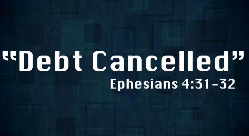 Debt Cancelled