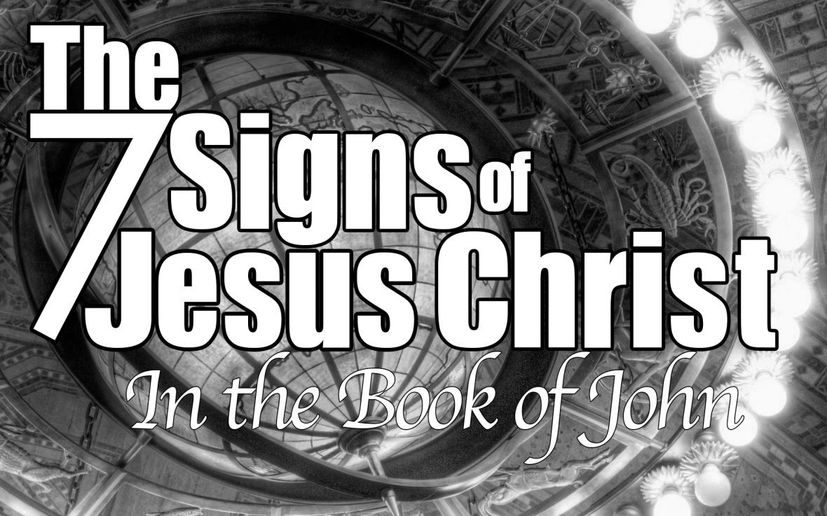 seven signs of jesus
